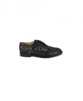 Ladies' Oxford Black Florale Mod.2577