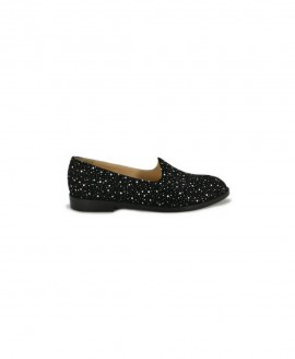 Ladies' Oxford Black Galaxy Suede Mod.2581